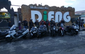 Touring motor SYM and Friends Jakarta  Dieng  22  23 September 2018